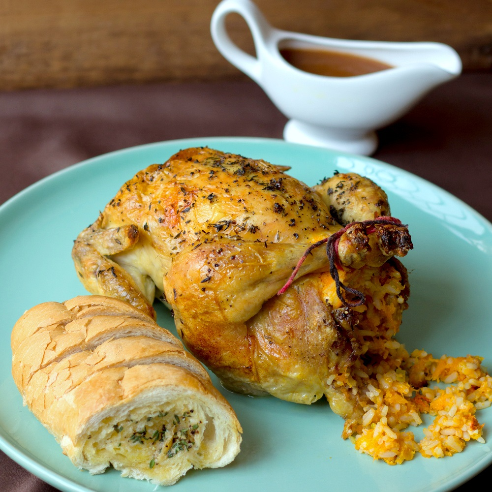 roast chicken with rice stuffing recipe food to love roast chicken ...