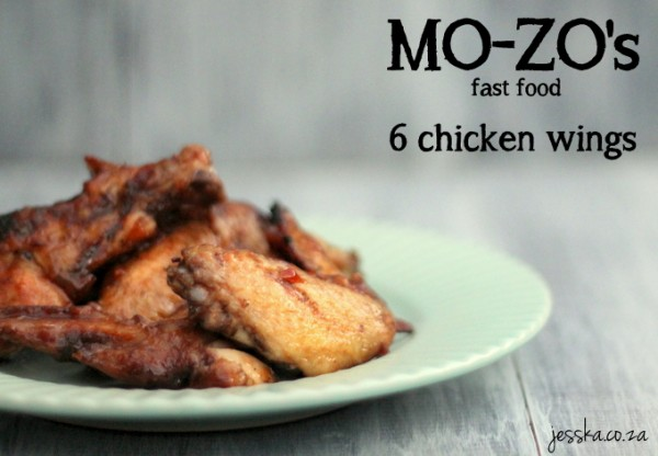 Mo-zos 6 chicken wings